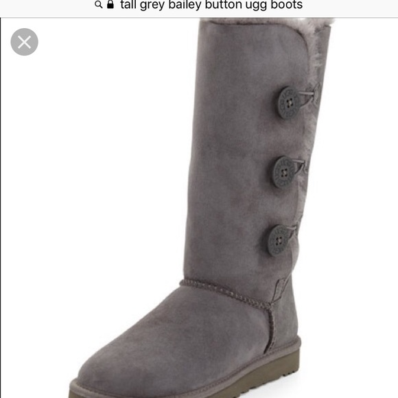 f75a7431650 Tall Ugg Bailey Button Boots